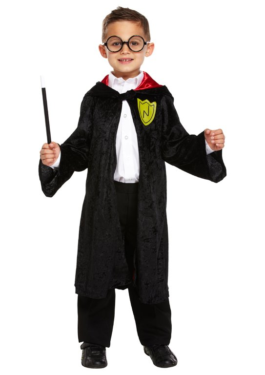 Children's Wizard Boy Costume (Large / 10-12 Years)