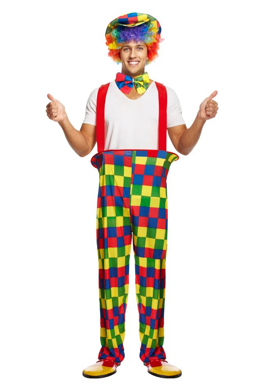New Clown Waistcoat Adult one size made by Henbrandt