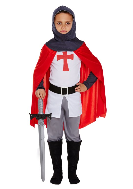 Children's Knight Costume (Small / 4-6 Years)