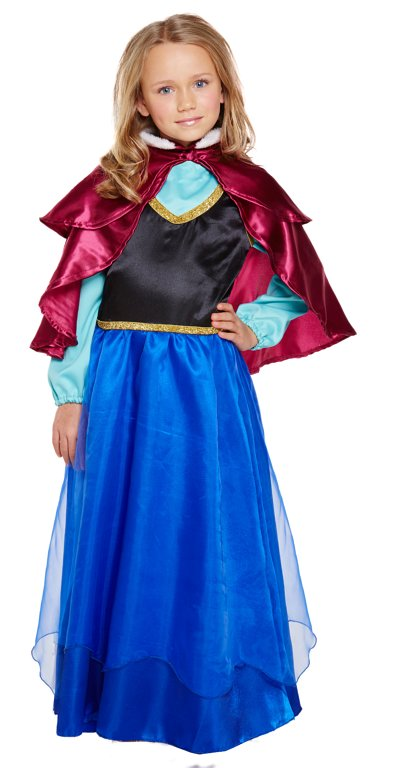 Children's Ice Princess Costume (Large / 10-12 Years)