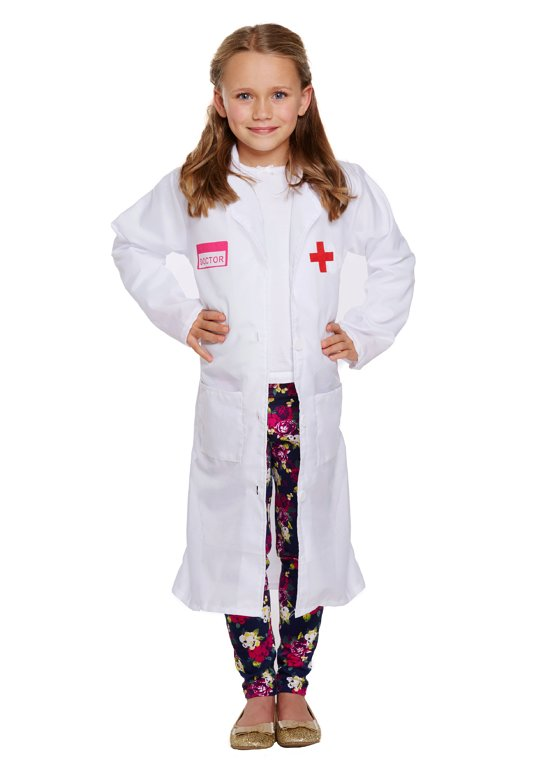 Children's Doctor Costume (Large / 10-12 Years)