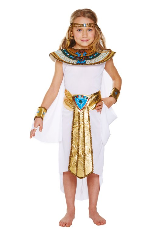 Children's Egyptian Girl Costume (Large / 10-12 Years)
