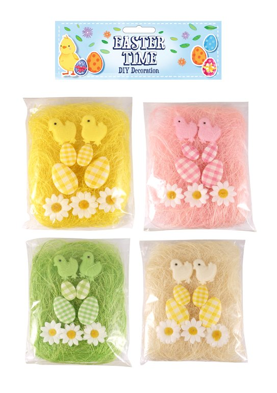 10pc DIY Easter Decoration Set (4 Assorted Colours) Arts and Crafts, Party Favours and Prizes