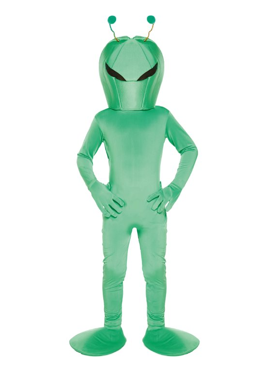 Children's Alien Costume (Medium / 7-9 Years)
