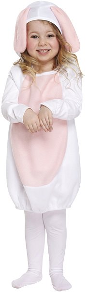 Cute Rabbit Fancy Dress Costume (Toddler / 3 Years)