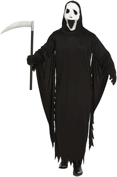 Demon Ghost (One Size) Adult Fancy Dress Costume