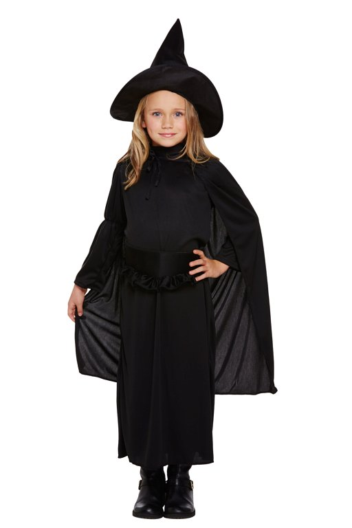 Children's Classic Witch Costume (Small / 4-6 Years)