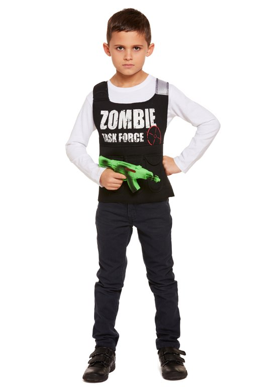 Children's Zombie Killer Costume (Large / 10-12 Years)