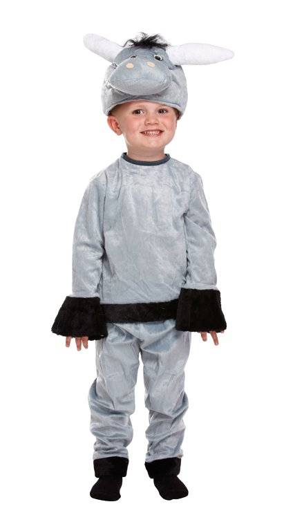 Donkey Fancy Dress Costume (Toddler / 3 Years)