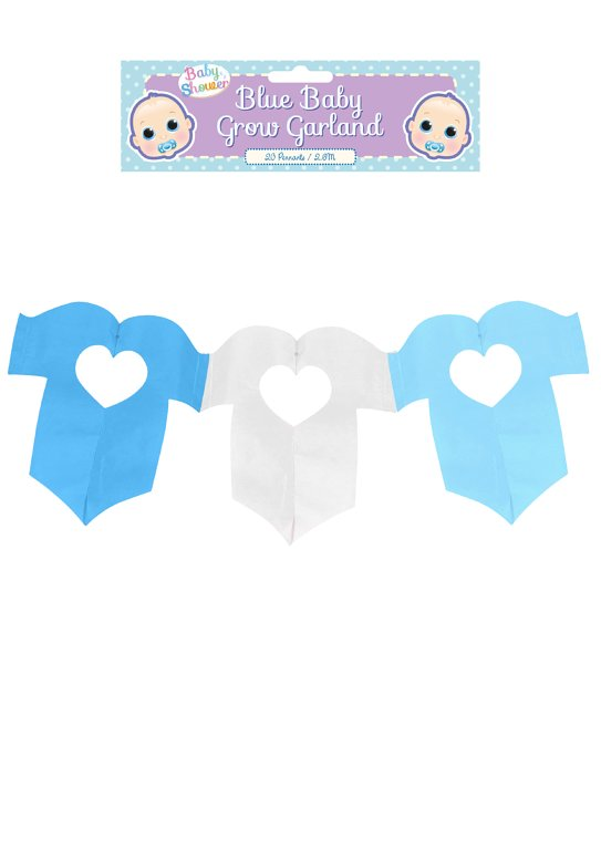 Baby Grow Garland in Blue (2.6m)