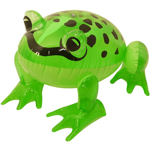 Inflatable Frog (39cm)