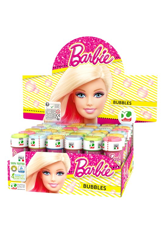 Barbie Bubble Tubs with Wand (60ml)