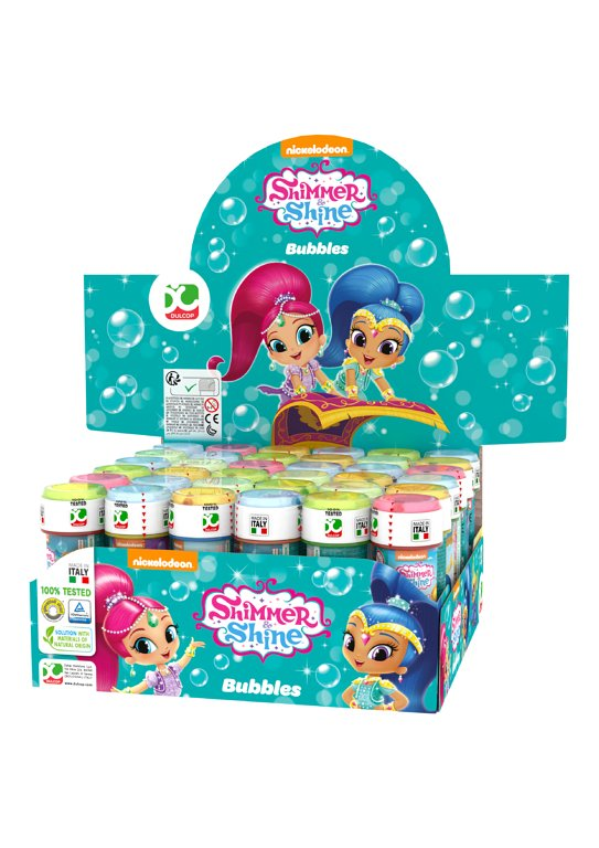 Shimmer and Shine Bubble Tubs with Wand (60ml)