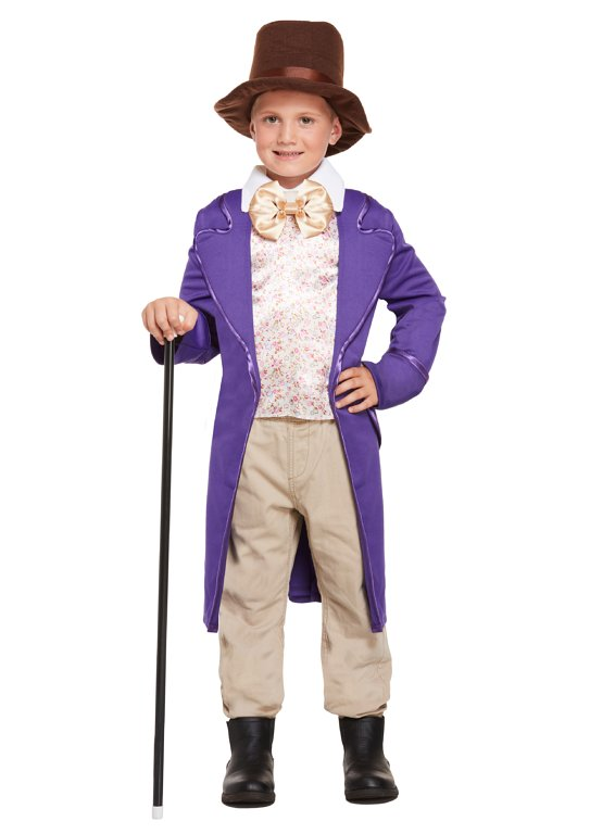 Children's Chocolate Factory Owner Costume (Large / 10-12 Years)