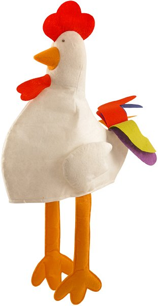 Novelty Chicken Hat (Adult)