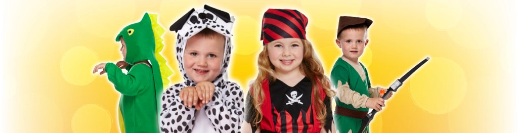 Childrens Costumes Toddlers Banner