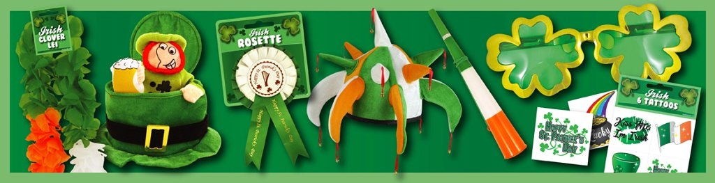 Irish Accessories Banner