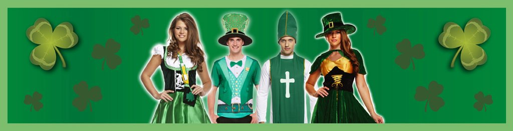 Irish Costumes Banner