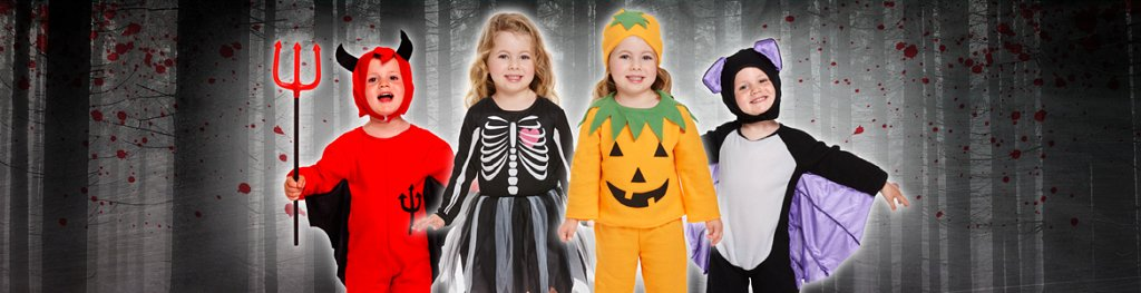 Halloween Toddler Costumes Banner
