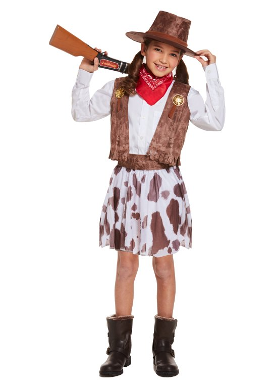 Children's Cowgirl Costume (Large / 10-12 Years)