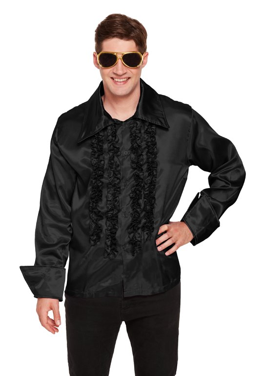 Black Disco Shirt (Adult)