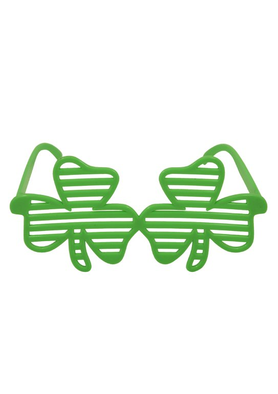 Shutter Shamrock Glasses (Adult)