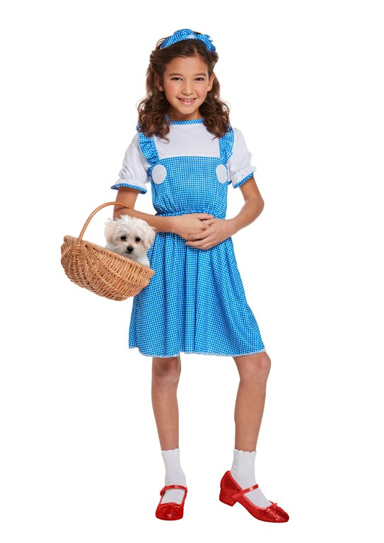 Children's Country Girl Costume (Large / 10-12 Years)