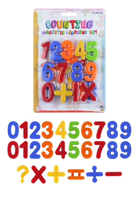 Magnetic Numbers Set (26 Pieces)