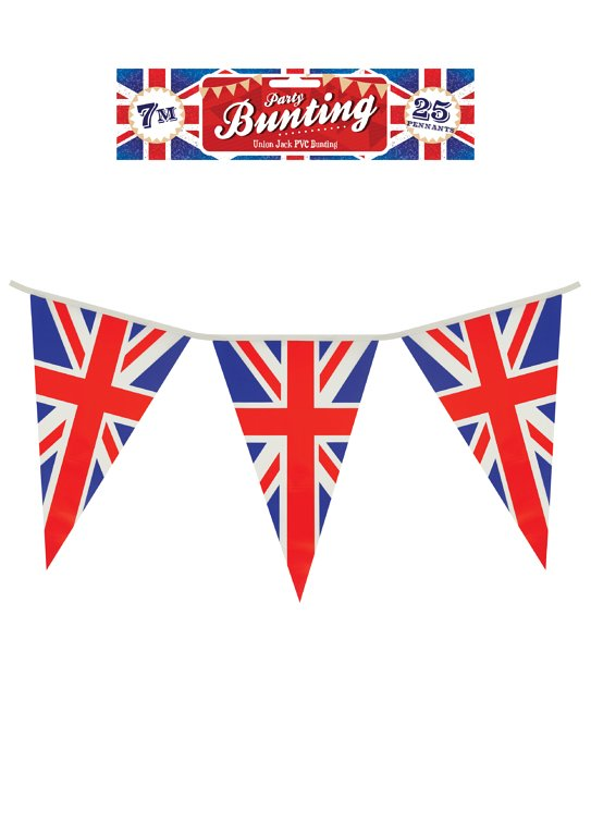 Union Jack Bunting 7m (25 Pennants)