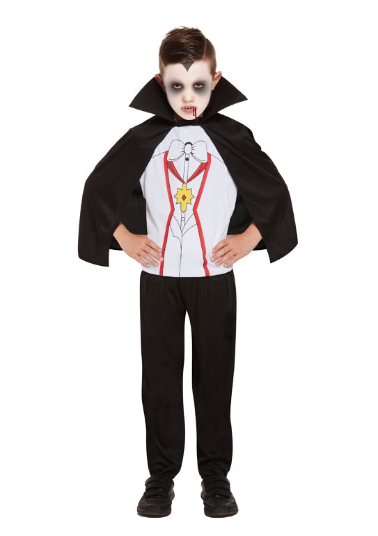 Children's Vampire Costume (Large / 10-12 Years)