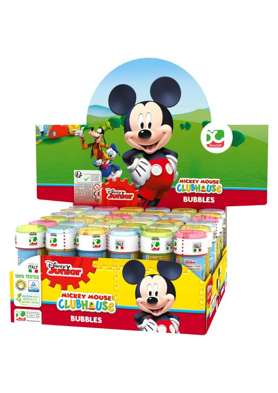 Disney Mickey Mouse Bubble Tubes (60ml)