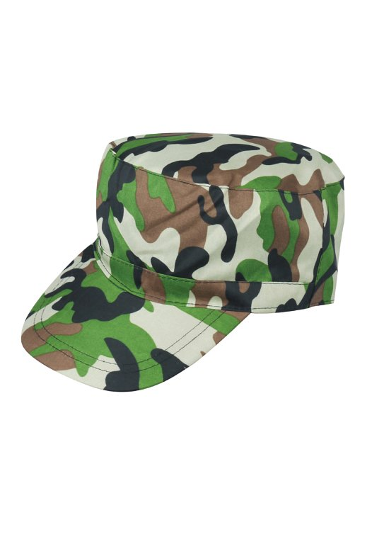 Camouflage Army Cap (Adult)