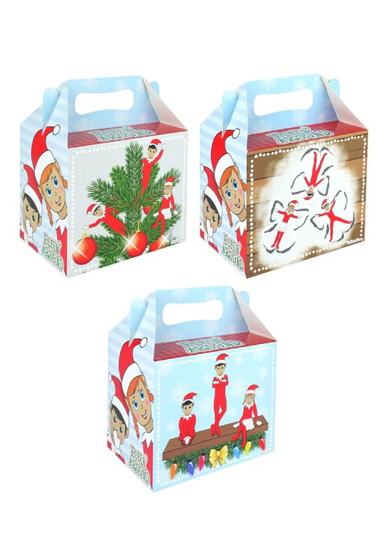 Elfin Around Lunch Boxes (3 Assorted Designs)