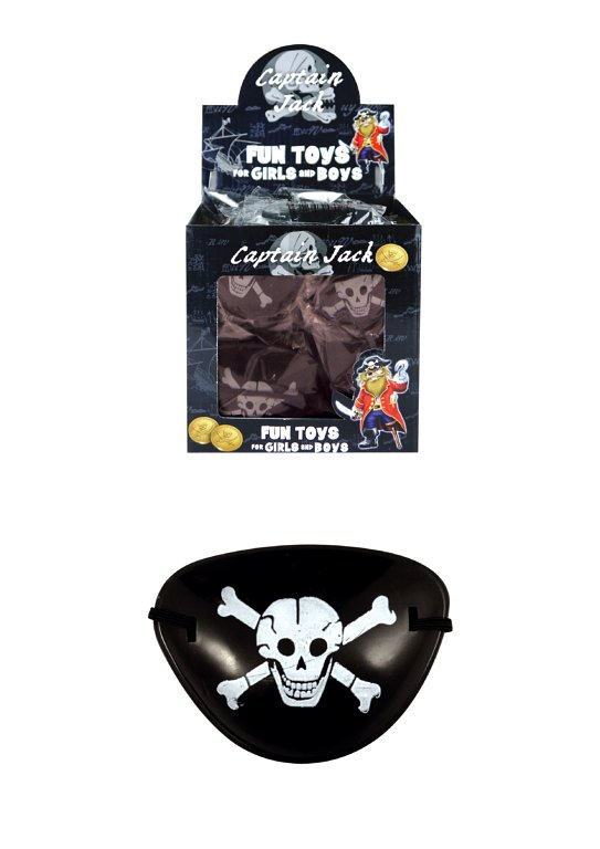 Pirate Skull and Crossbones Eyepatch (8cm)