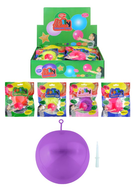 Jelly Balloon Ball (4 Assorted Colours)