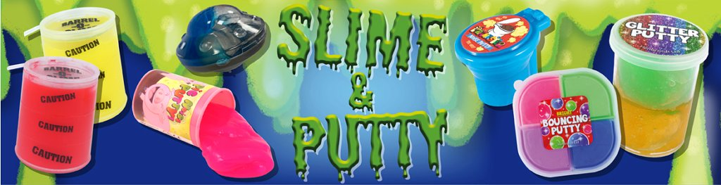 Toys Putty And Slime Banner