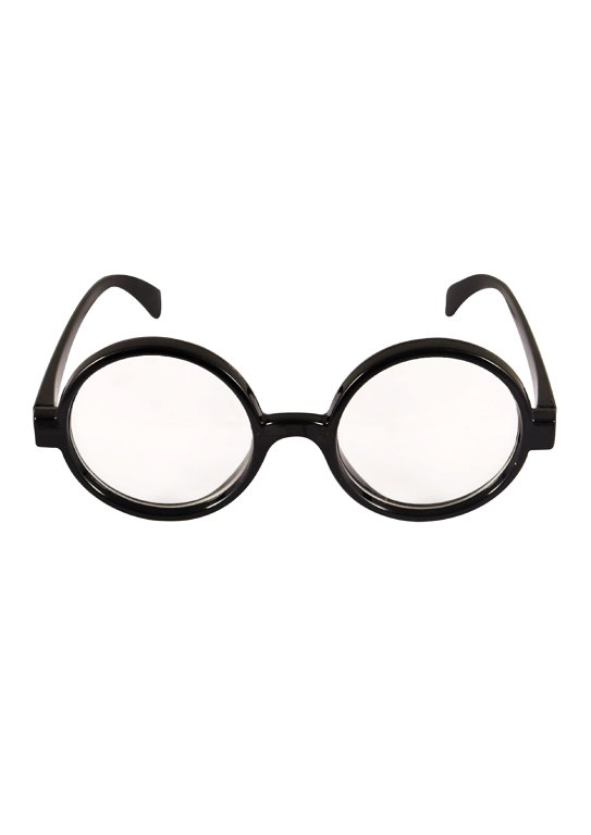 Wizard Boy Glasses with Clear Lenses (Adult)