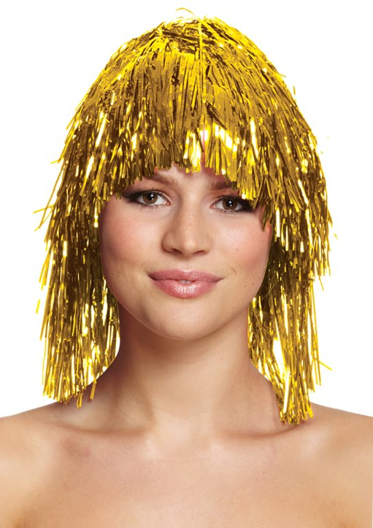 Gold Tinsel Wig (20g)