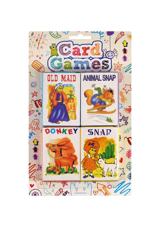 Mini Card Game Packs (4.5x6.5cm) 4 Assorted