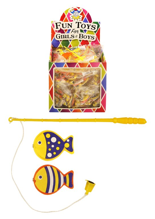 Mini Fishing Game (2 Assorted Colours)