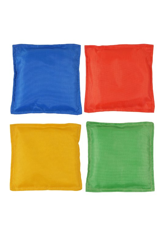 Bean Bags (12.7cm) 4 Assorted Colours
