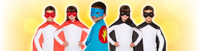 Childrens Costumes Capes Banner