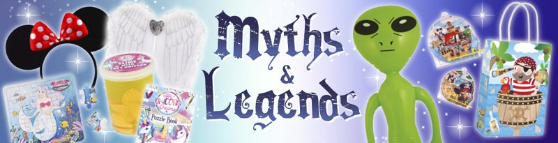 Theme Myths And Lengends Banner
